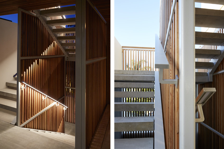 Liv Light stairwell lighting