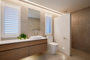 Liv Light in the bathroom