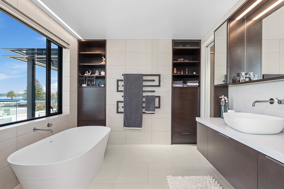 Bathroom lighting by Liv Light