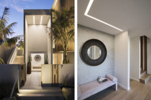 Project lighting in Papamoa